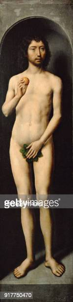 Adam Side Wing of the Small Triptych of St John the Baptist Found in the Collection of Art History Museum Vienne