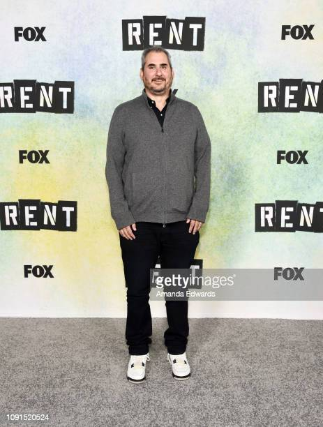 Adam Siegel attends Fox's 'Rent' press junket at the Fox Studio Lot on January 08 2019 in Century City California