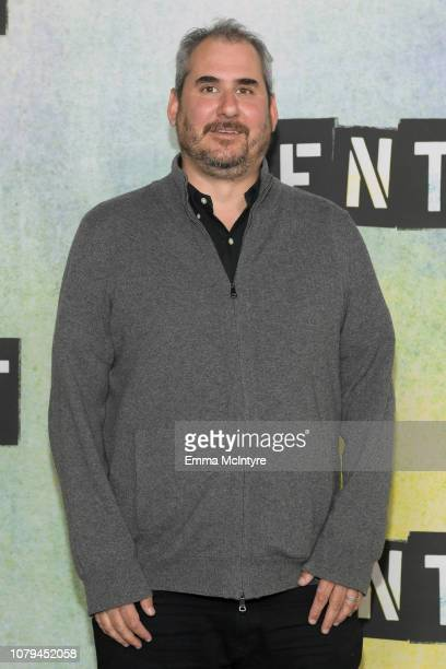 Adam Siegel attends the press junket for 'RENT' at Fox Studio Lot on January 8 2019 in Century City California