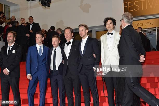 Adam Siegel Matt Smith Iain De Caestecker Reda Kateb Ryan Gosling Christina Hendricks and Geoffrey Arend attend the 'Lost River' premiere during the...