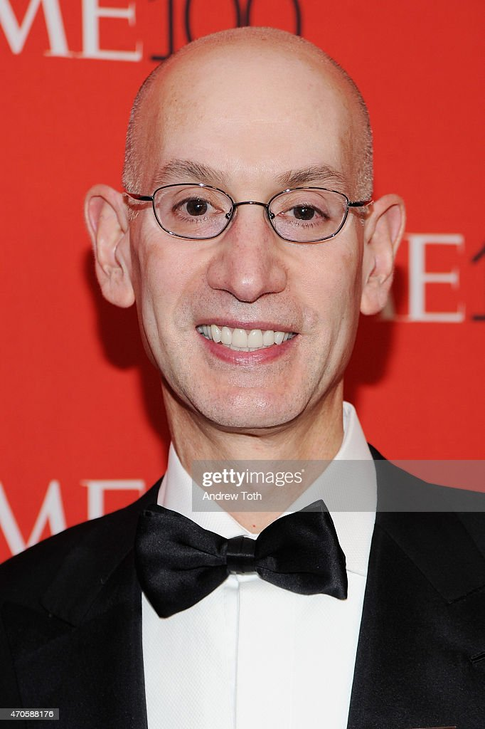 Adam Silver attends the 2015 Time 100 Gala at Frederick P. Rose Hall, Jazz at Lincoln Center on April 21, 2015 in New York City.