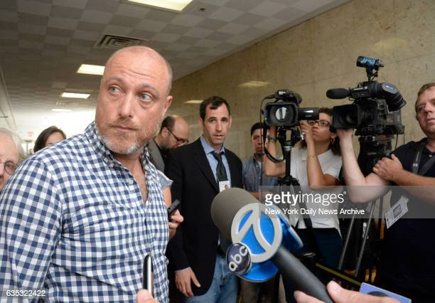 Adam Sirois the lone holdout juror in the first Pedro Hernandez trial in Manhattan Supreme Court on Wednesday June 10 2015 Pedro Hernandez is charged...