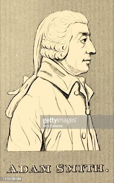 Adam Smith' 1830 Adam Smith Scottish economist author moral philosopher and pioneer of political economy a key figure during Scottish Enlightenment...