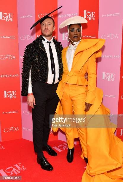 Adam Smith and Billy Porter attend Love Ball III at Gotham Hall on June 25 2019 in New York City