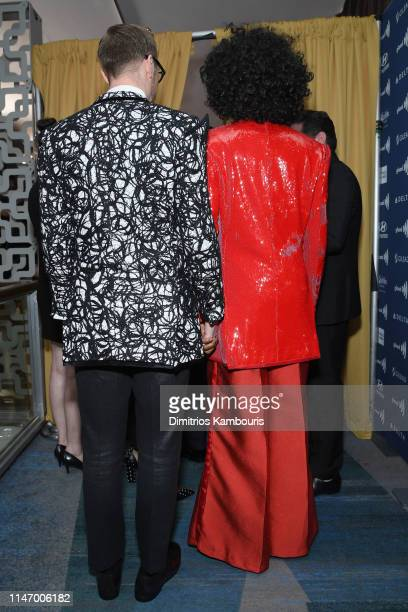 Adam Smith and Billy Porter attend the 30th Annual GLAAD Media Awards New York at New York Hilton Midtown on May 04 2019 in New York City