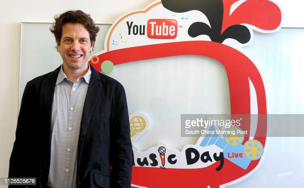 Adam Smith head of YouTube AsiaPacific is interviewed at Google's office in Causeway Bay 09MAY13