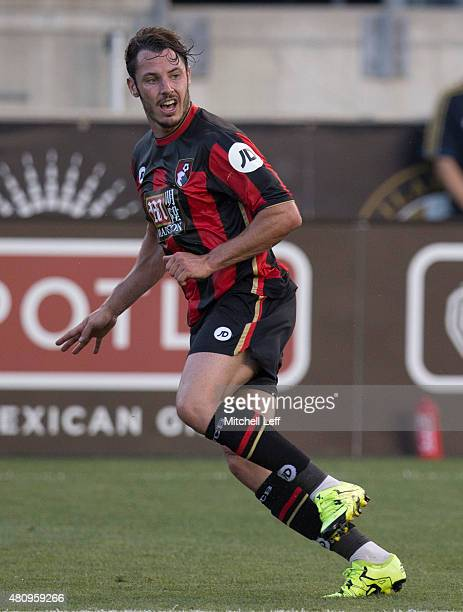 Adam Smith of AFC Bournemouth plays in the friendly match against the Philadelphia Union on July 14 2015 at the PPL Park in Chester Pennsylvania