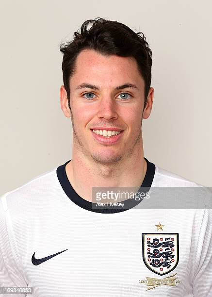 Adam Smith of England Under21s poses for a portrait at St Georges Park on March 19 2013 in BurtonuponTrent England