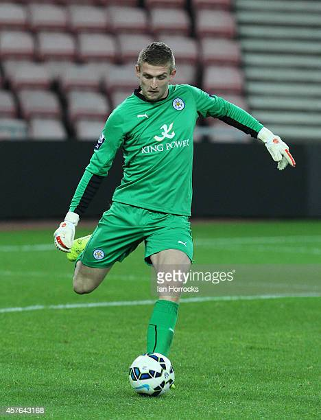 Adam Smith of Leicester City during the Barclays U21 League match between Sunderland AFC and Leicester City FC at The Stadium of Light on October 20...