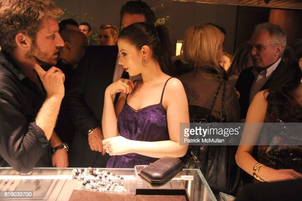 Adam Spoont and Michelle Trachtenberg attend DAVID YURMAN Townhouse Opening Celebration to benefit The Society of Memorial SloanKettering Cancer...