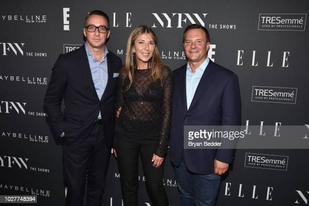 Adam Stotsky Nina Garcia and attend as E ELLE IMG celebrate the KickOff To NYFW The Shows at The Pool on September 5 2018 in New York City