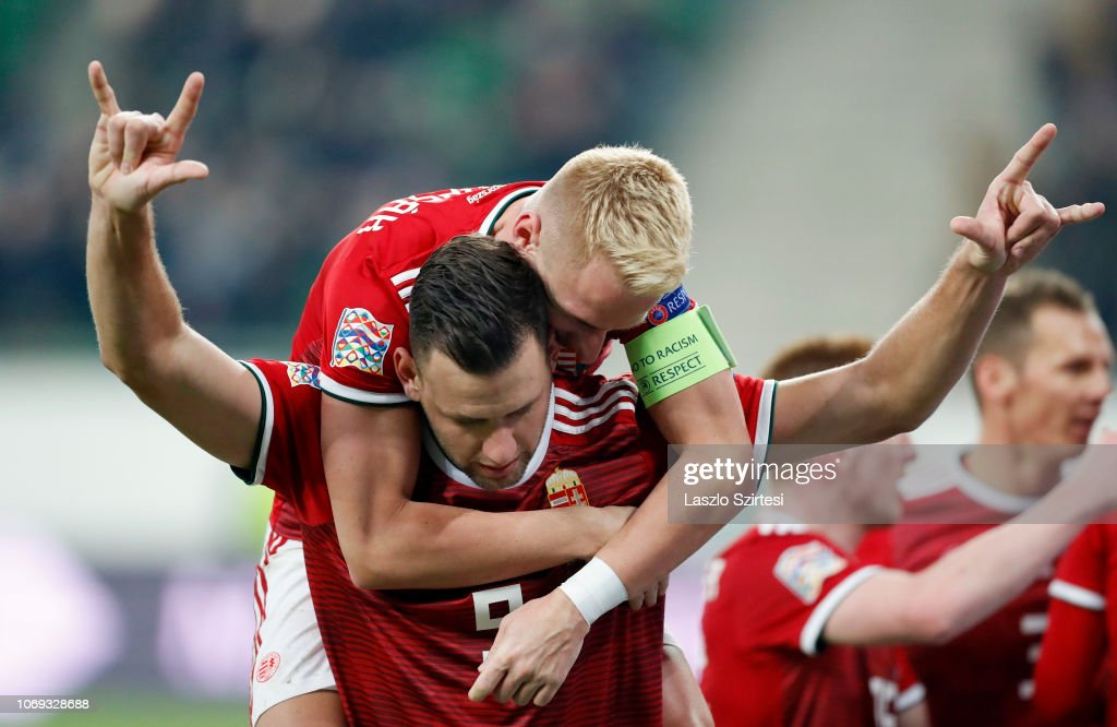 Hungary v Finland - UEFA Nations League C : News Photo