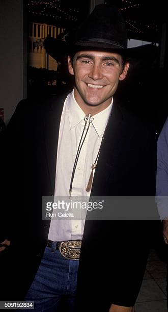 Adam Taylor attends Golden Boot Awards on July 28 1990 at the Century Plaza Hotel in Century City California