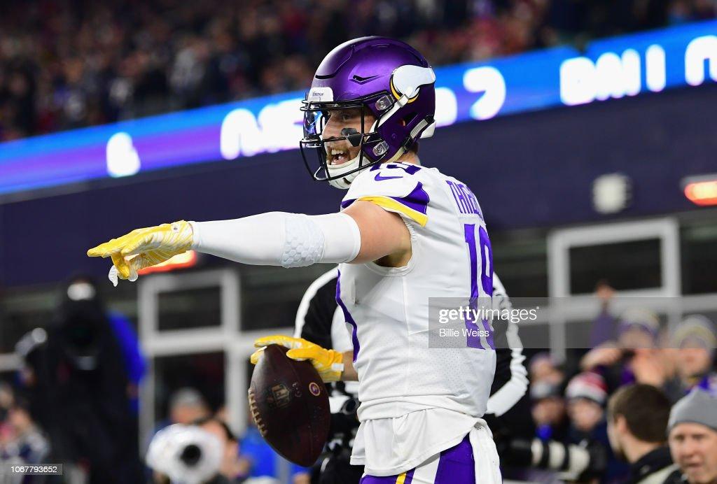 Minnesota Vikings v New England Patriots : News Photo