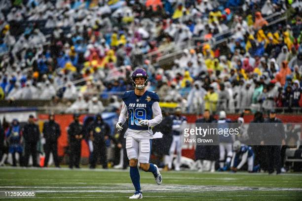 Adam Thielen of the Minnesota Vikings in action during the 2019 NFL Pro  Bowl at Camping 935d76237