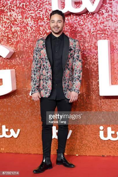 Adam Thomas attends the ITV Gala at the London Palladium on November 9 2017 in London England