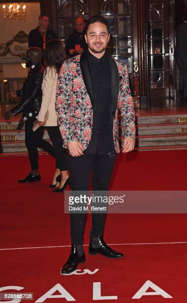 Adam Thomas attends the ITV Gala held at the London Palladium on November 9 2017 in London England