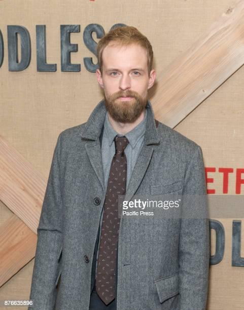 Adam Thompson attends Netflix Godless premiere at Metrograph
