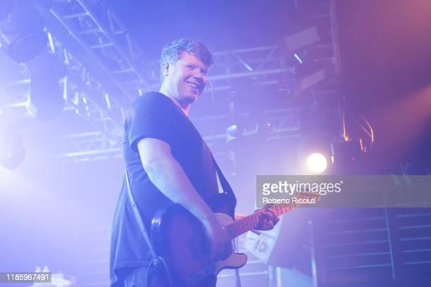 Adam Thompson of We Were Promised Jetpacks performs on stage at The Liquid Room on December 1 2019 in Edinburgh Scotland