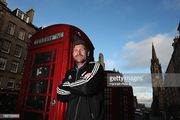 Adam Thomson of the All Blacks poses for a photo on November 7 2012 in Edinburgh Scotland