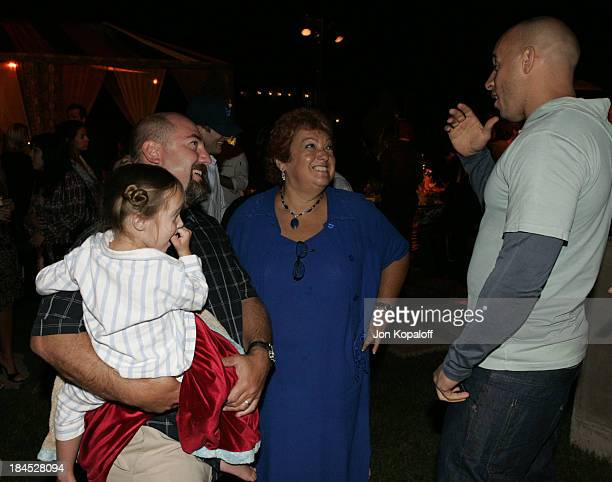 Adam Venit and Vin Diesel during 2004 PreEmmy Party Hosted By Endeavor Agency at Private Residence in Beverly Hills California United States