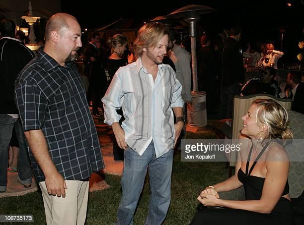 Adam Venit David Spade and Brittany Daniel *Exclusive*