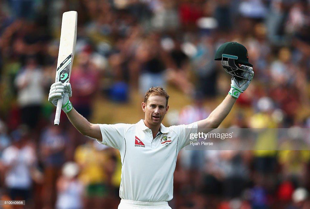 New Zealand v Australia - 1st Test: Day 3