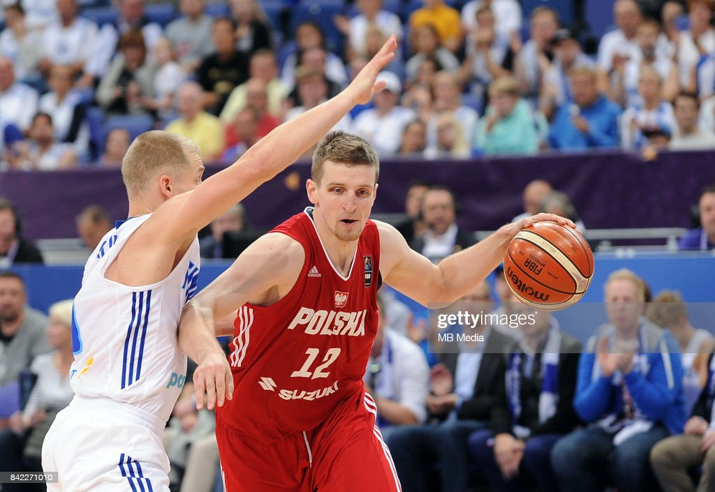 Adam Waczynski of Poland during the FIBA Eurobasket 2017 Group A match between Finland and Poland on September 3, 2017 in Helsinki, Finland.