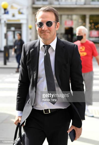 Adam Waldman attends day 5 of Johnny Depp's libel case against The Sun Newspaper at the Royal Courts of Justice Strand on July 13 2020 in London...