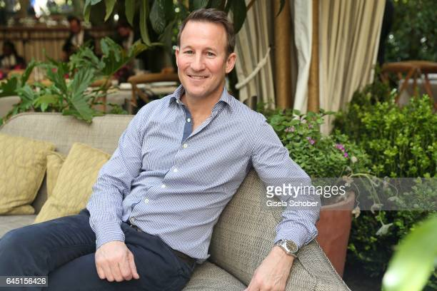 Adam Waldman during the Net-A-Porter lunch at hotel Chateau Marmont on February 24, 2017 in Los Angeles, California.