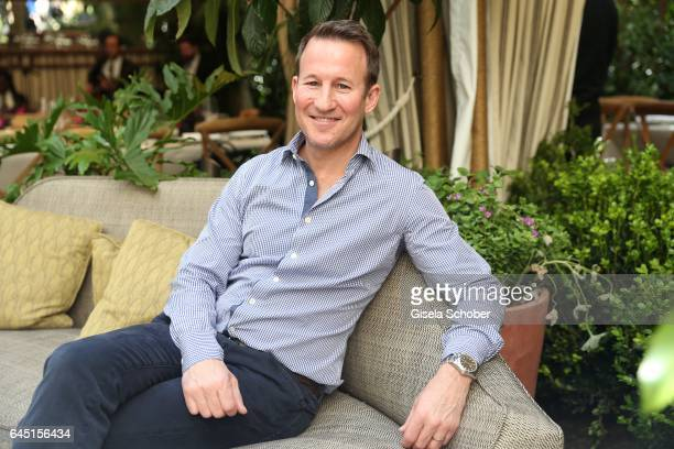 Adam Waldman during the NetAPorter lunch at hotel Chateau Marmont on February 24 2017 in Los Angeles California