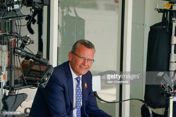 Adam Waterworth Managing Director of Sport at Goodwood poses at Goodwood Racecourse on July 31 2020 in Chichester England Owners are allowed to...