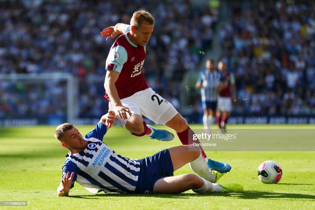 Brighton & Hove Albion v Burnley FC - Premier League : Nachrichtenfoto