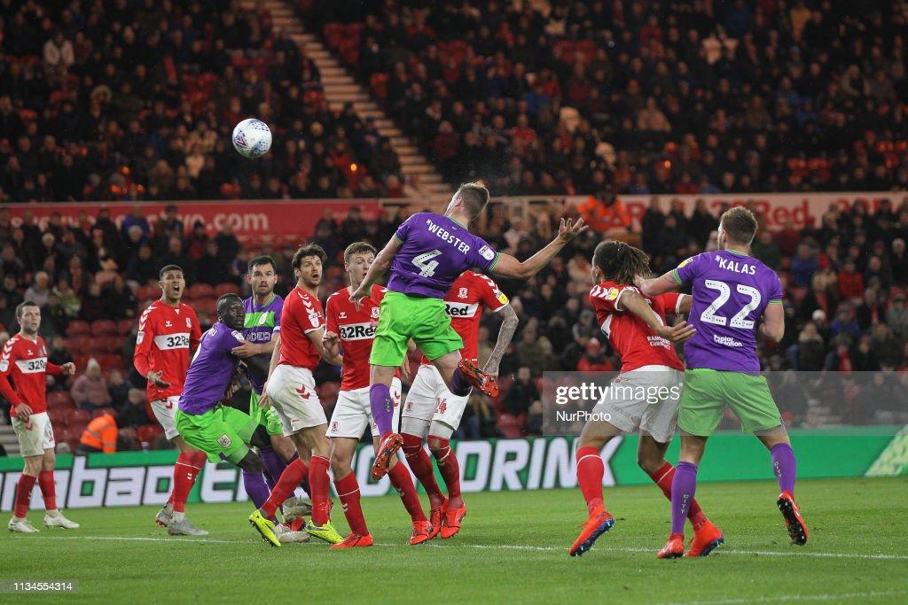 Middlesbrough v Bristol City - EFL Sky Bet : News Photo