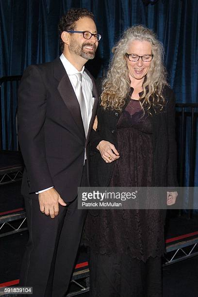 Adam Weinberg and Kiki Smith attend Whitney Museum of American Art hosts the 2005 WHITNEY GALA and After Party at Whitney Museum of American Art on...