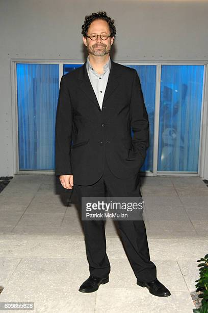 Adam Weinberg attends DAVID YURMAN and THE WHITNEY MUSEUM host 'OUT OF THE ARCHIVES' at The Sagamore on December 5 2007 in Miami Beach FL