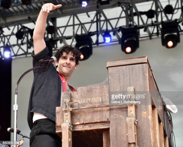Adam Weiner of Low Cut Connie Performs during The Jayhawks A Celebration of Chuck Berry With Musical Director Vernon Reid and Low Cut Connie at...