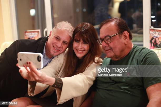 Adam Weinstock Carol Alt and Paul Sorvino during the Paul Dee Dee Sorvino celebrate their new book Pinot Pasta Parties at 200 East 57th Street on...