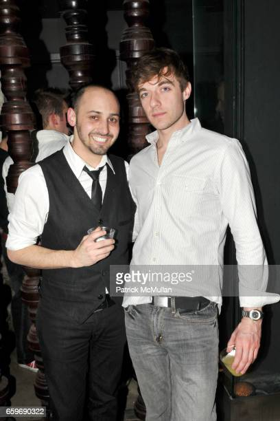 Adam Weiss and James Moore attend Opening Night for ROCKIT Hosted by TONY FORNABAIO and BRANDON VOSS at Amalia on March 27 2009 in New York City