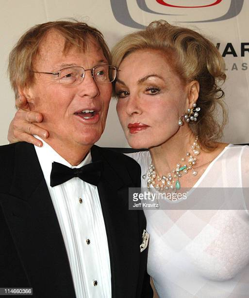 Adam West and Julie Newmar during 2006 TV Land Awards Red Carpet at Barker Hangar in Santa Monica California United States