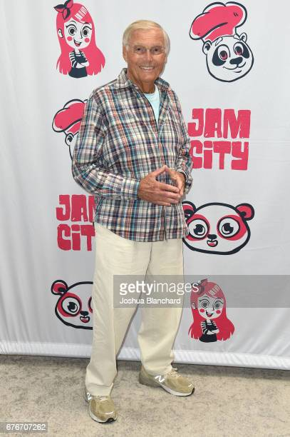 Adam West attends Family Guy Another Freakin' Mobile Game Live Stream on May 2 2017 in Culver City California