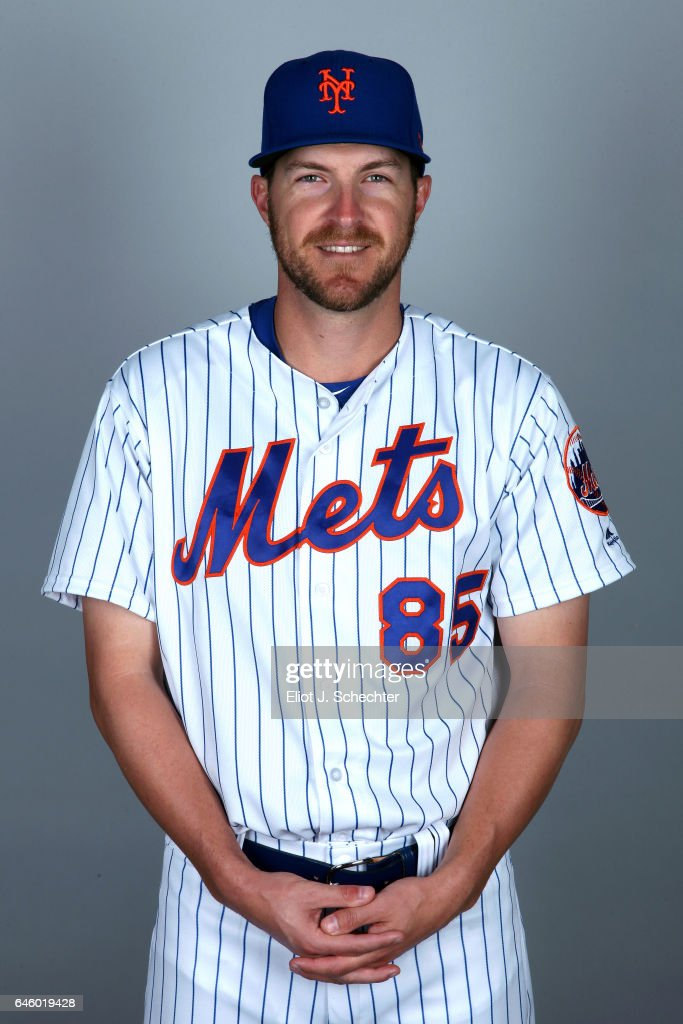 Adam Wilk #85 of the New York Mets poses during Photo Day on Wednesday, February 22, 2017 at Tradition Field in Port St. Lucie, Florida.