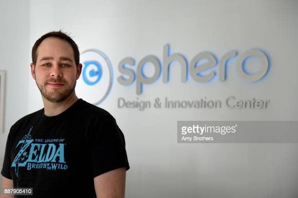 Adam Wilson chief creative officer and cofounder at Sphero at the Sphero campus in Boulder Colorado on December 1 2017 Sphero specializes in...