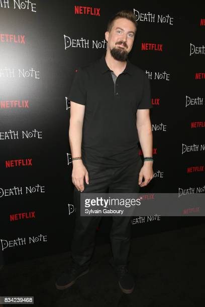 Adam Wingard attends Death Note New York Premiere at AMC Loews Lincoln Square 13 theater on August 17 2017 in New York City