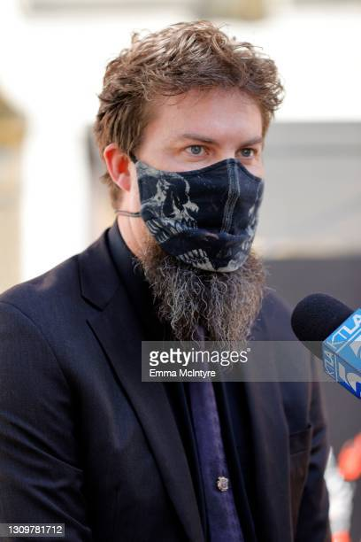 Adam Wingard attends the post-pandemic reopening and ribbon cutting ceremony hosted by TCL Chinese Theatre on March 29, 2021 in Hollywood, California.