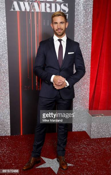 Adam Woodward attends The British Soap Awards at The Lowry Theatre on June 3 2017 in Manchester England The British Soap Awards will be aired on June...