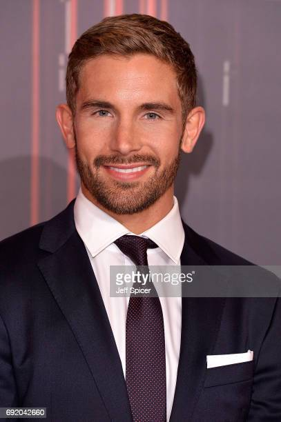 Adam Woodward attends The British Soap Awards at The Lowry Theatre on June 3 2017 in Manchester England The Soap Awards will be aired on June 6 on...