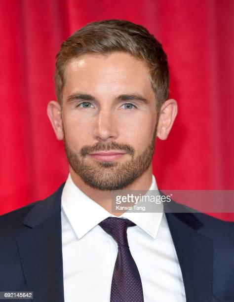 Adam Woodward attends the British Soap Awards at The Lowry Theatre on June 3 2017 in Manchester England