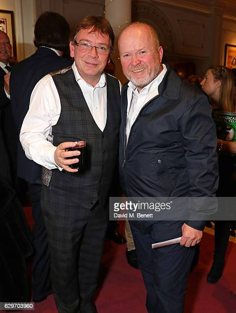 Adam Woodyatt and Phil Mitchell attend the Opening Night performance of 'Cinderella' at London Palladium on December 14 2016 in London England