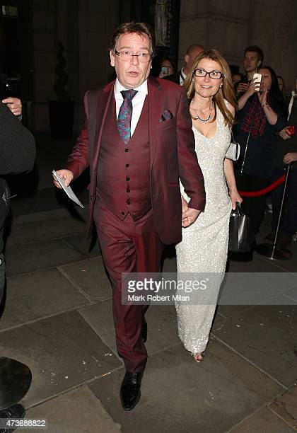 Adam Woodyatt attending the British Soap Awards at the Palace Theatre on May 16 2015 in Manchester England